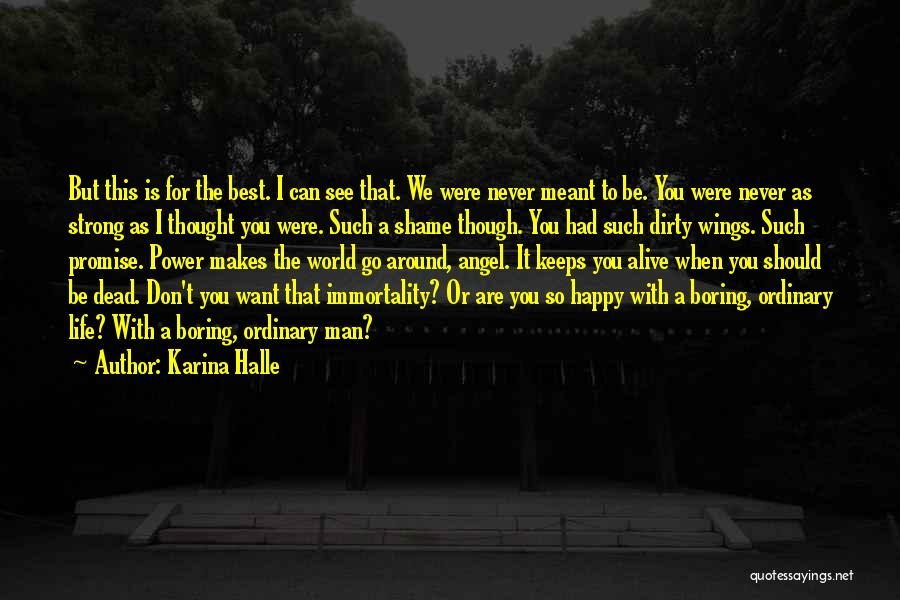 I Promise You The World Quotes By Karina Halle