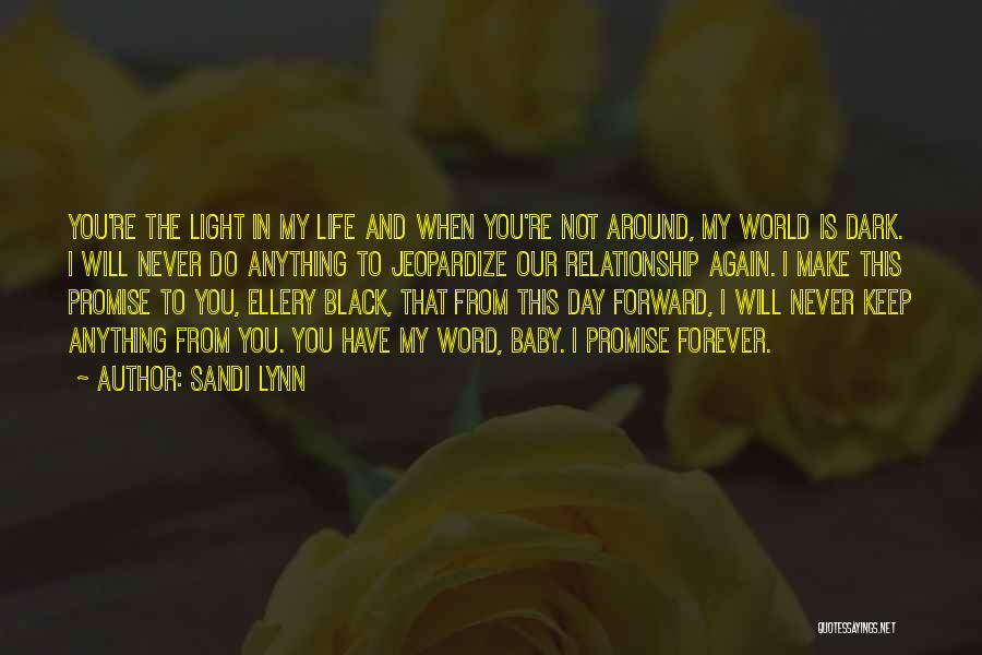 I Promise You The World Quotes By Sandi Lynn