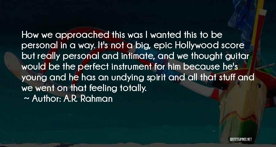I.r.a Quotes By A.R. Rahman