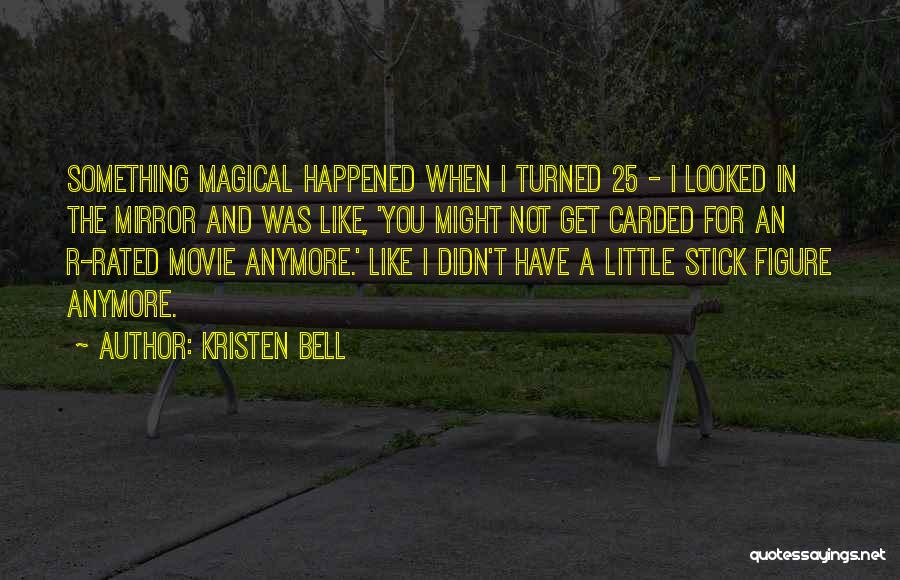 I.r.a Quotes By Kristen Bell