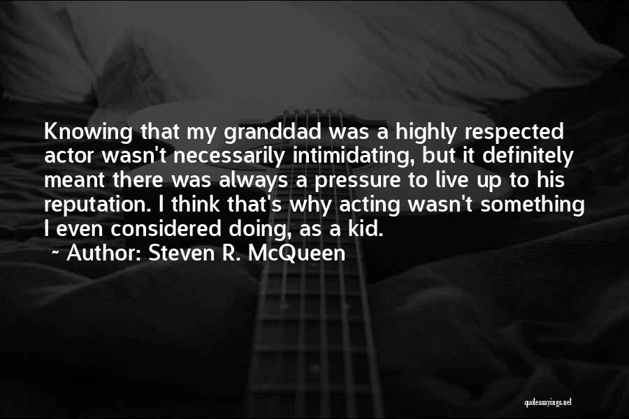 I.r.a Quotes By Steven R. McQueen