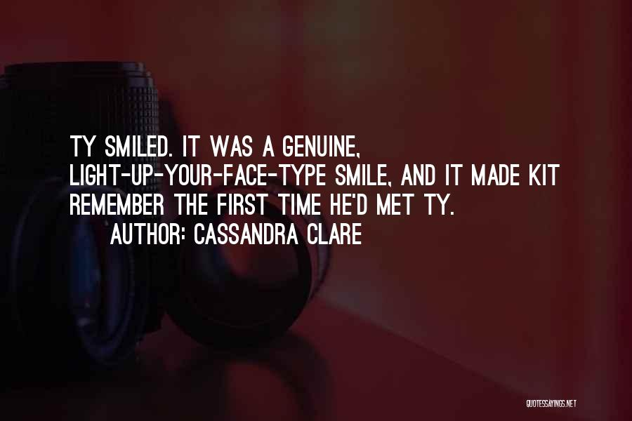 I Remember The First Time I Met You Quotes By Cassandra Clare