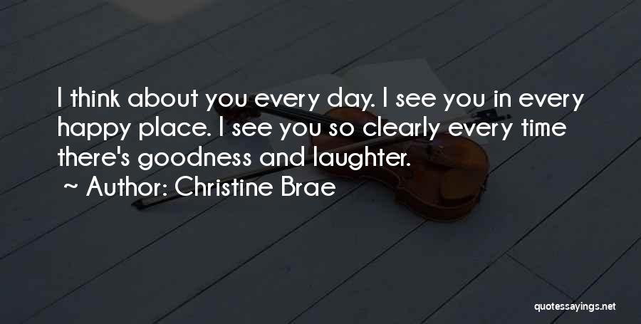 I See Clearly Quotes By Christine Brae
