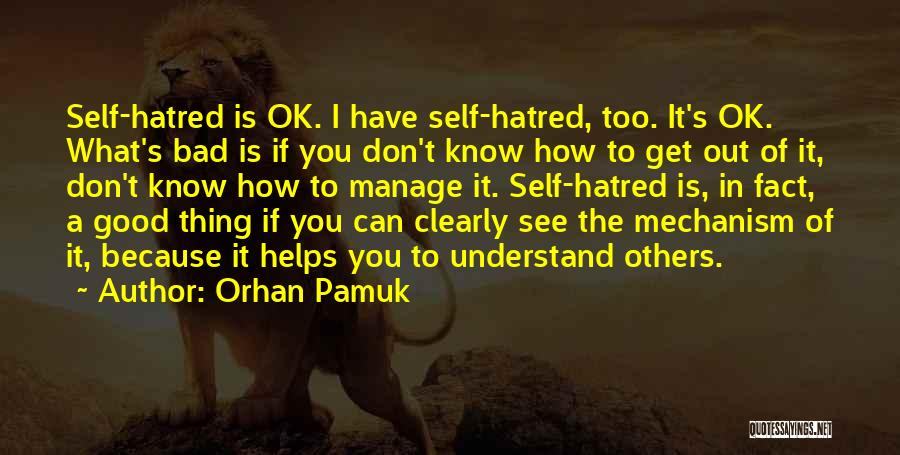 I See Clearly Quotes By Orhan Pamuk