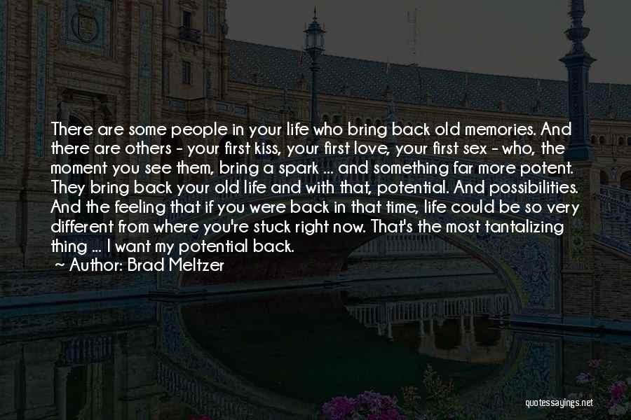 I See Potential Quotes By Brad Meltzer