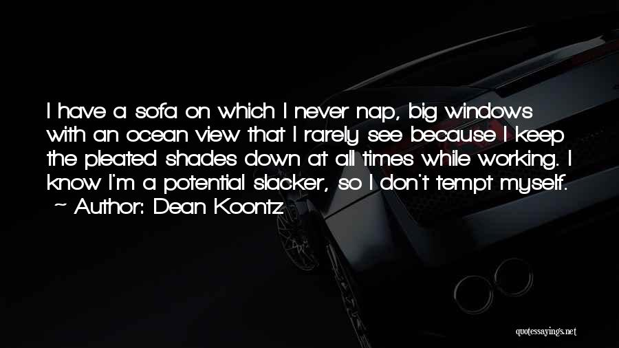 I See Potential Quotes By Dean Koontz