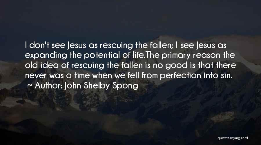 I See Potential Quotes By John Shelby Spong