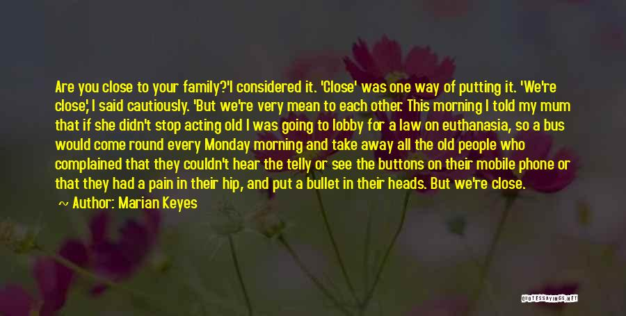 I See Your Pain Quotes By Marian Keyes
