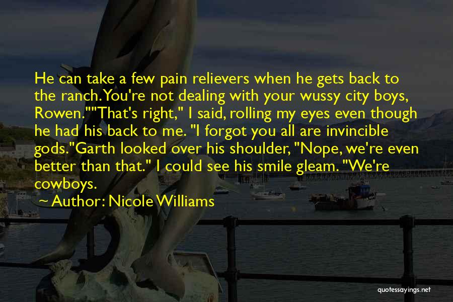 I See Your Pain Quotes By Nicole Williams
