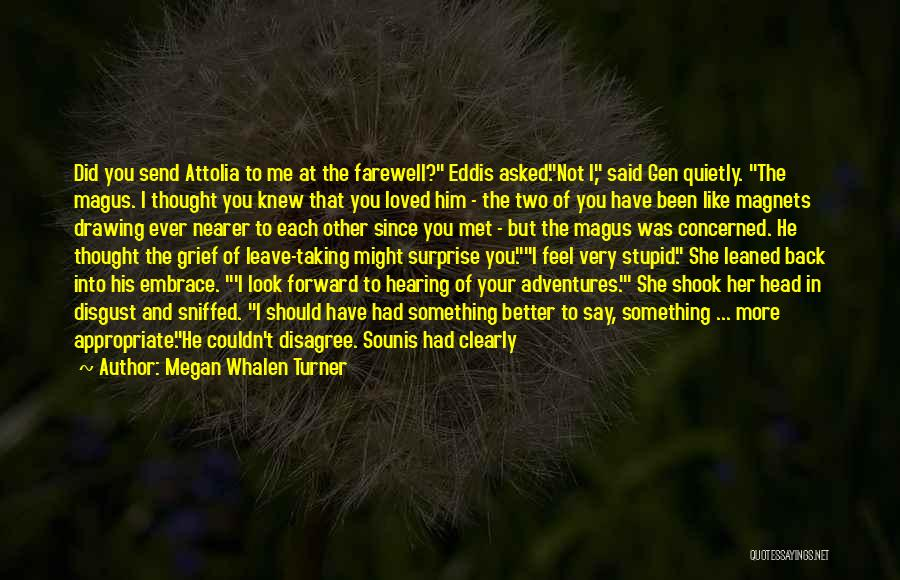 I Should Have Met You Before Quotes By Megan Whalen Turner