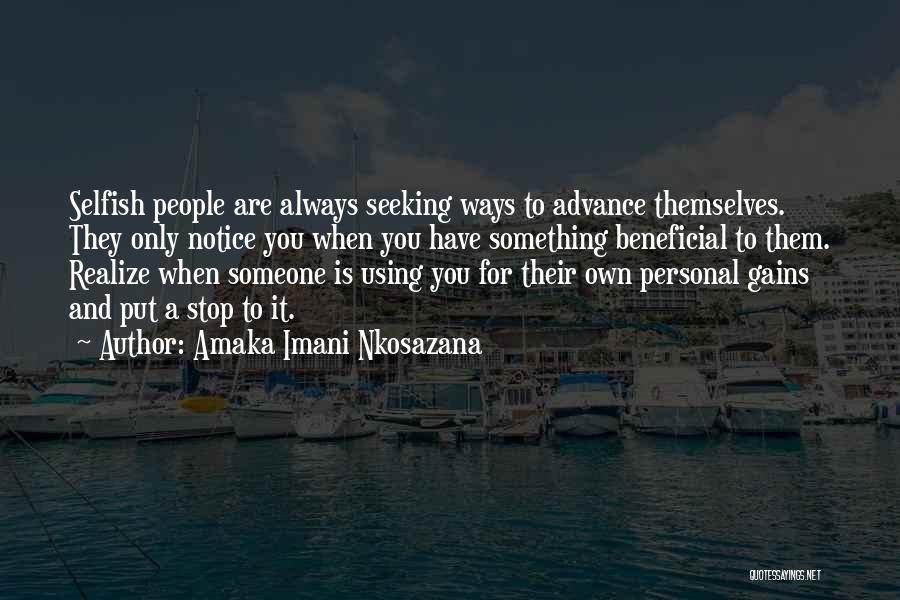 I Should Stop Caring Quotes By Amaka Imani Nkosazana