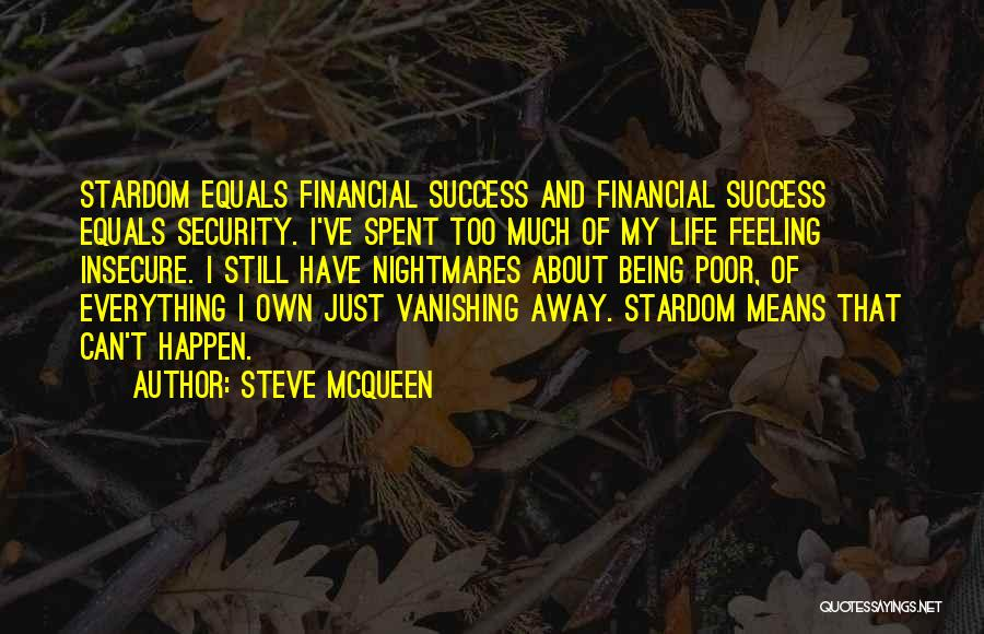 I Still Have Feelings Quotes By Steve McQueen