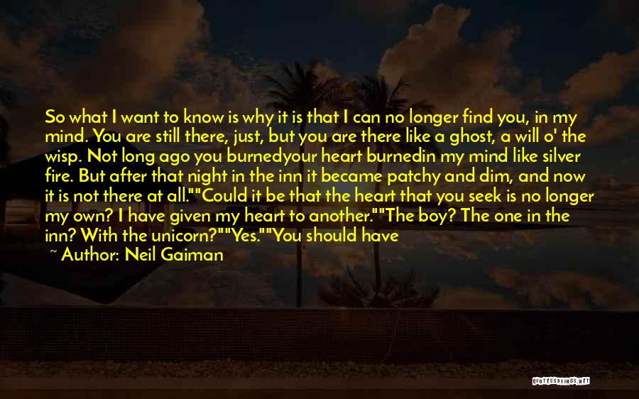 I Still Love You Long Quotes By Neil Gaiman