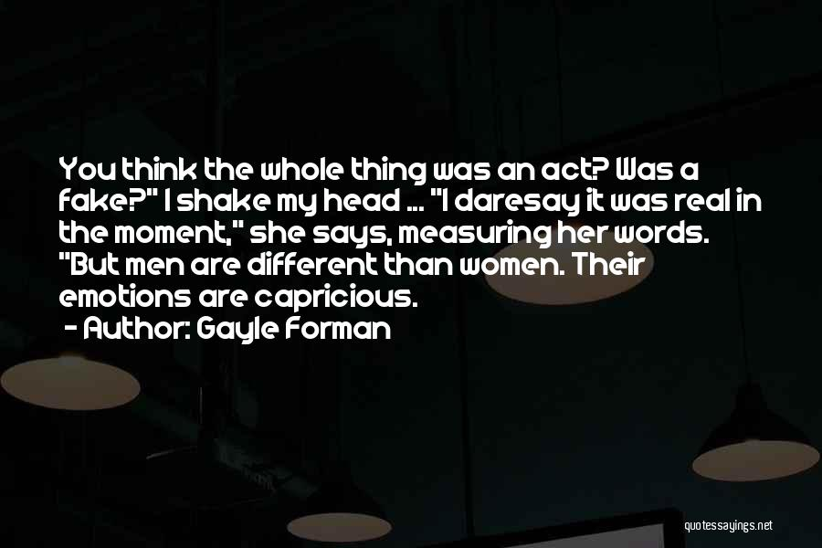 I Think You Different Quotes By Gayle Forman