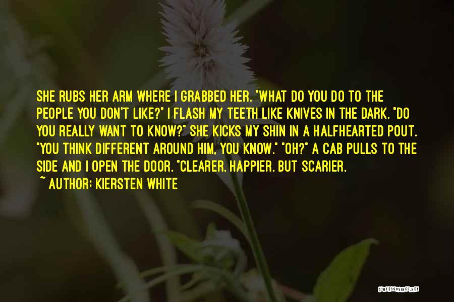 I Think You Different Quotes By Kiersten White