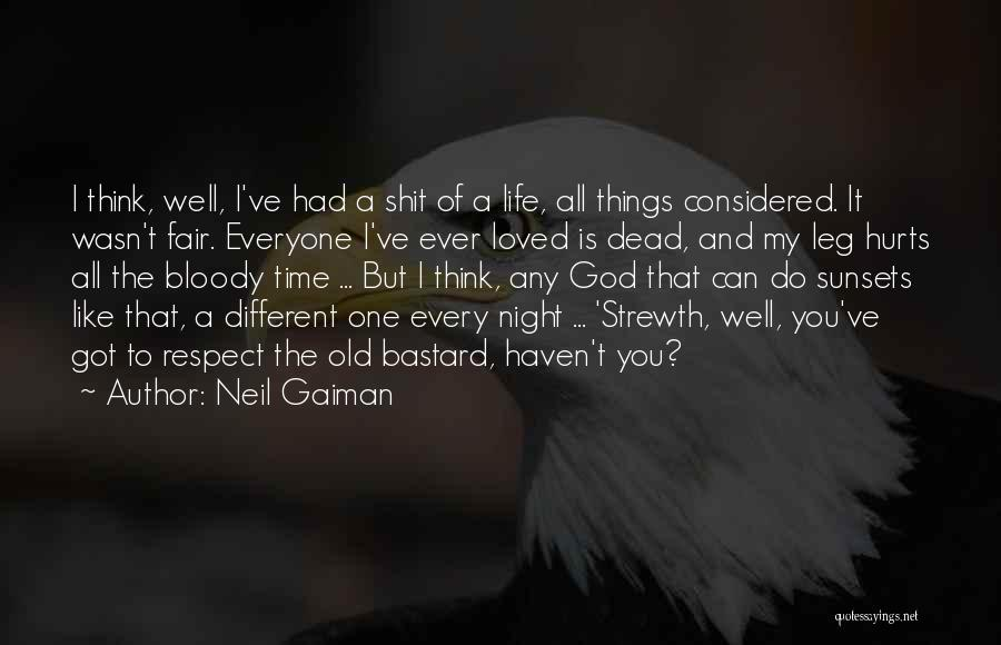 I Think You Different Quotes By Neil Gaiman