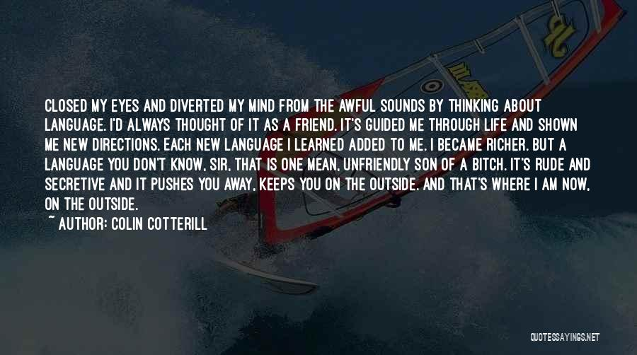 I Thought You're My Friend Quotes By Colin Cotterill