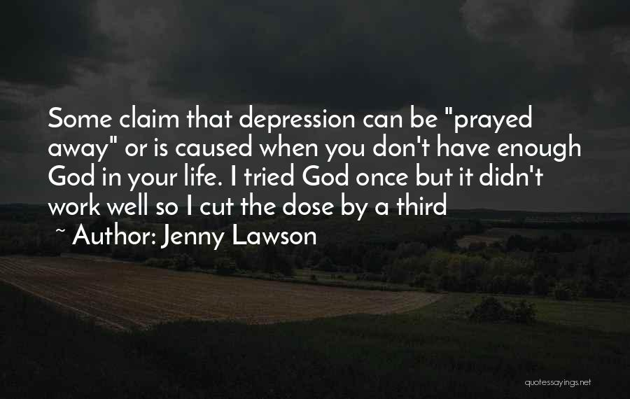 I Tried Enough Quotes By Jenny Lawson