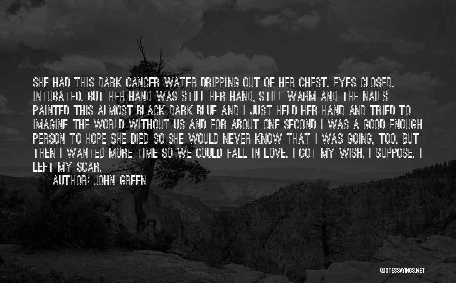 I Tried Enough Quotes By John Green