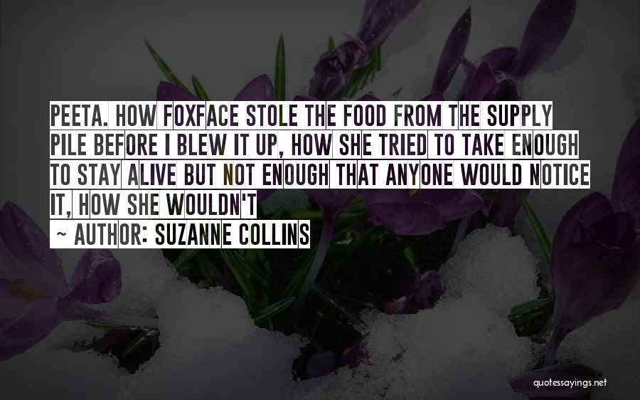 I Tried Enough Quotes By Suzanne Collins