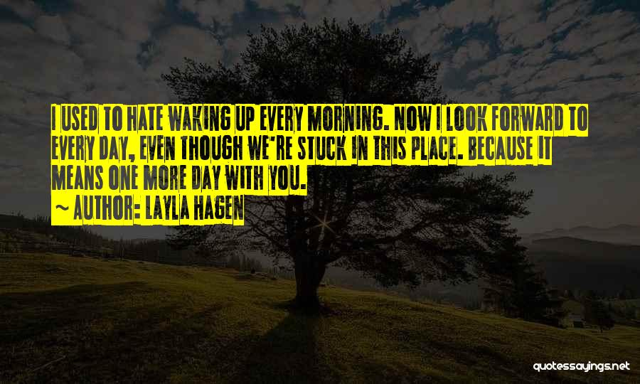 I Used To Look Up To You Quotes By Layla Hagen