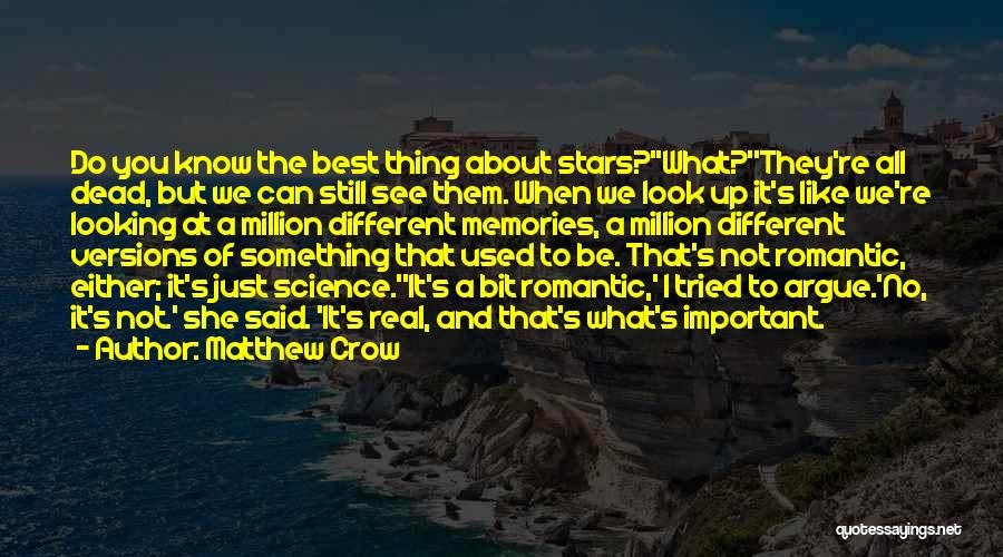 I Used To Look Up To You Quotes By Matthew Crow