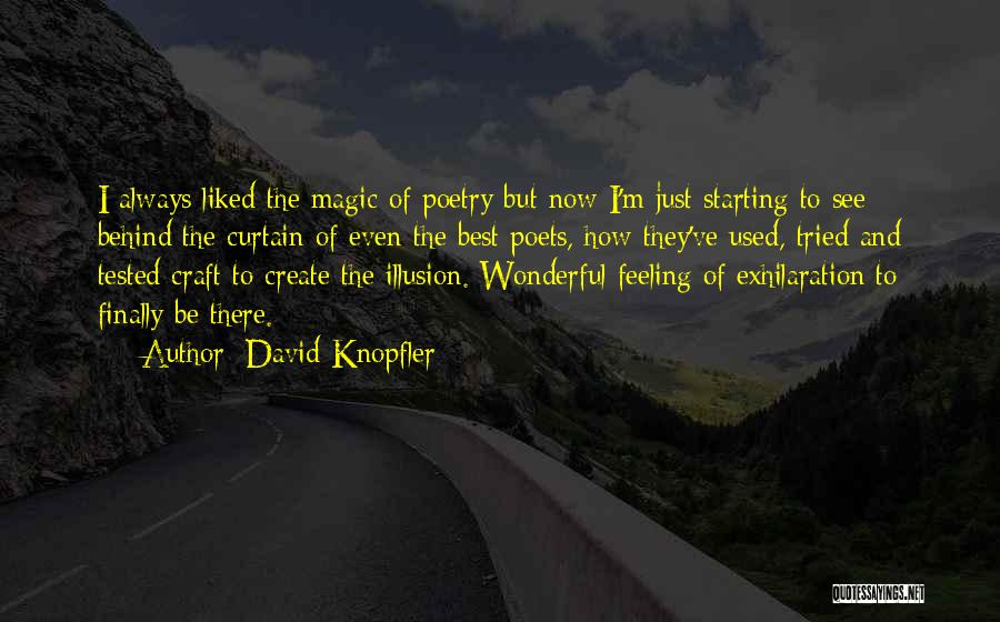 I Ve Tried Quotes By David Knopfler