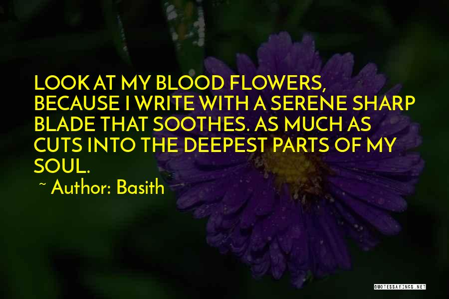 I Want Flowers Just Because Quotes By Basith