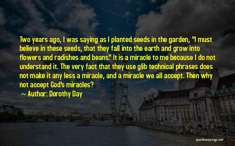 I Want Flowers Just Because Quotes By Dorothy Day