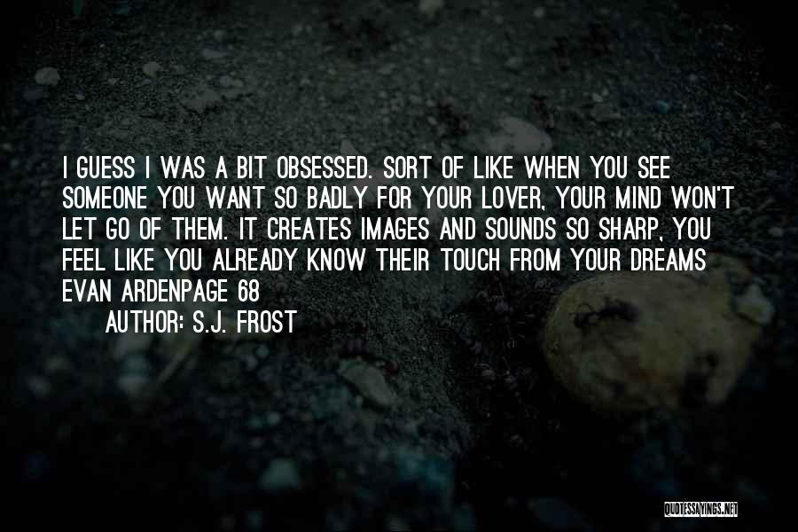 I Want Someone Like You Quotes By S.J. Frost