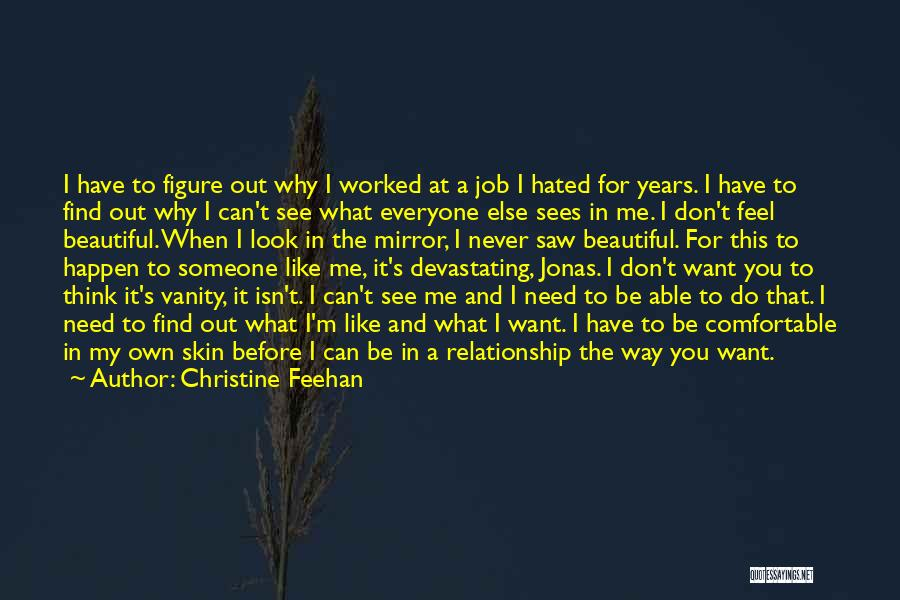 I Want This Relationship Quotes By Christine Feehan