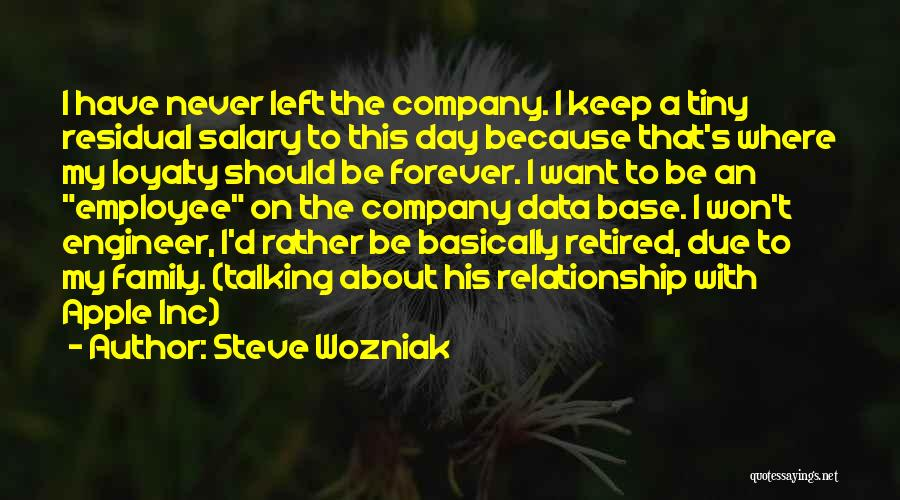 I Want This Relationship Quotes By Steve Wozniak