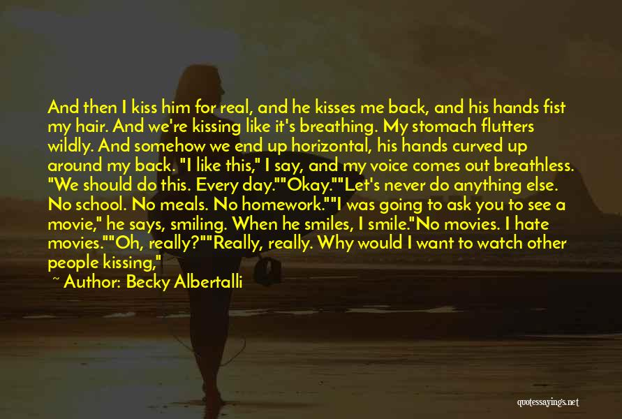 I Want To Ask You Out Quotes By Becky Albertalli