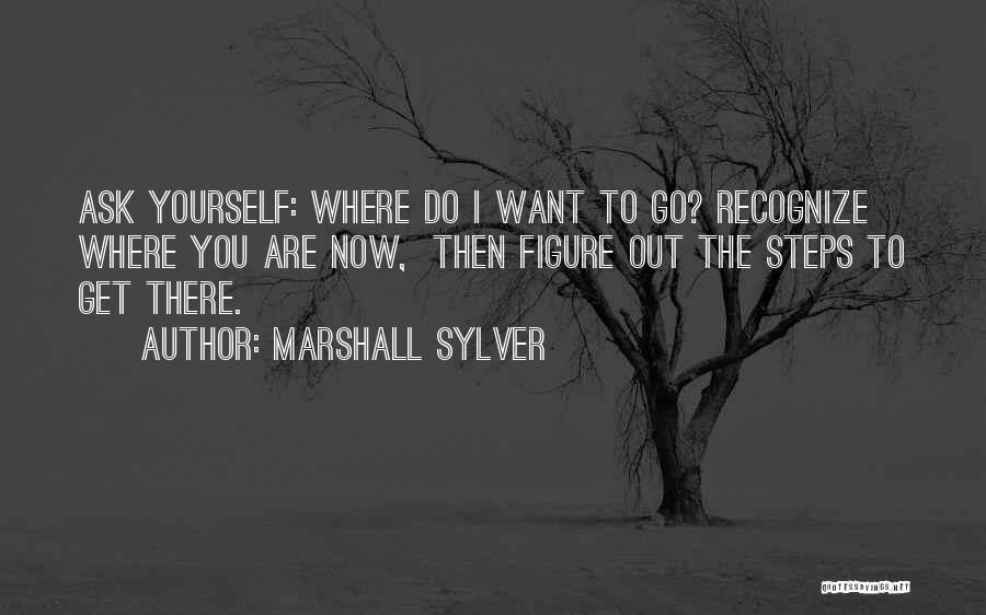 I Want To Ask You Out Quotes By Marshall Sylver
