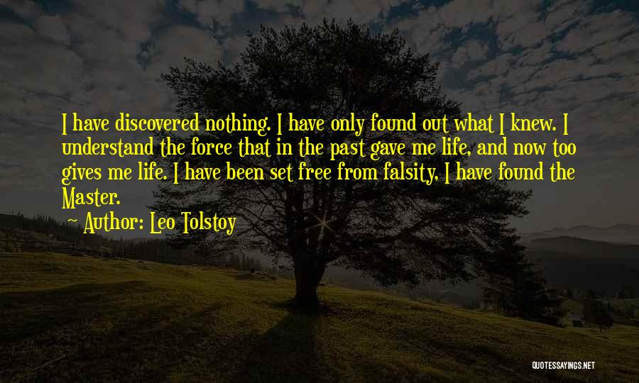I Want To Be Set Free Quotes By Leo Tolstoy