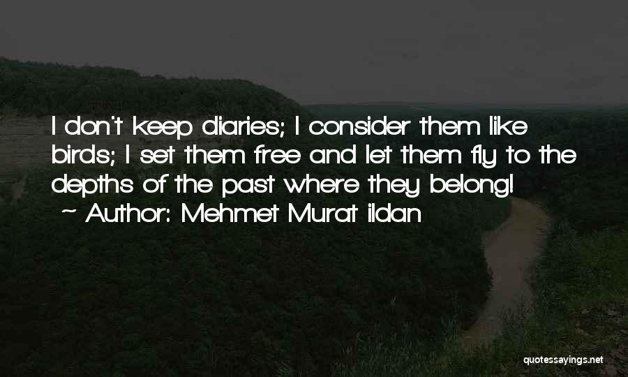 I Want To Be Set Free Quotes By Mehmet Murat Ildan