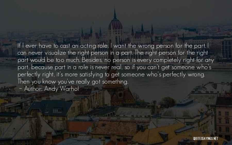 I Want To Be Something More Quotes By Andy Warhol
