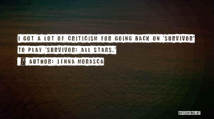 I Want To Go Back To My Past Quotes By Jenna Morasca