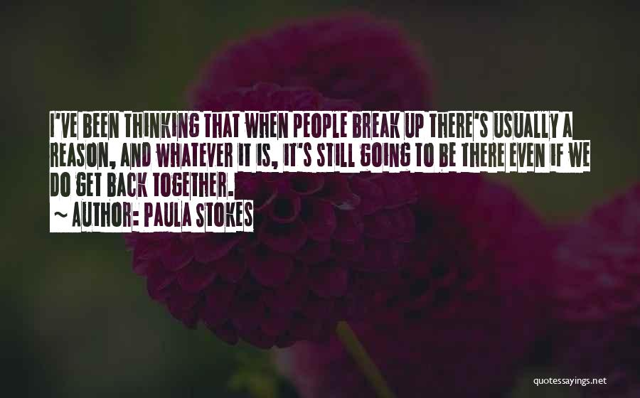 I Want To Go Back To My Past Quotes By Paula Stokes