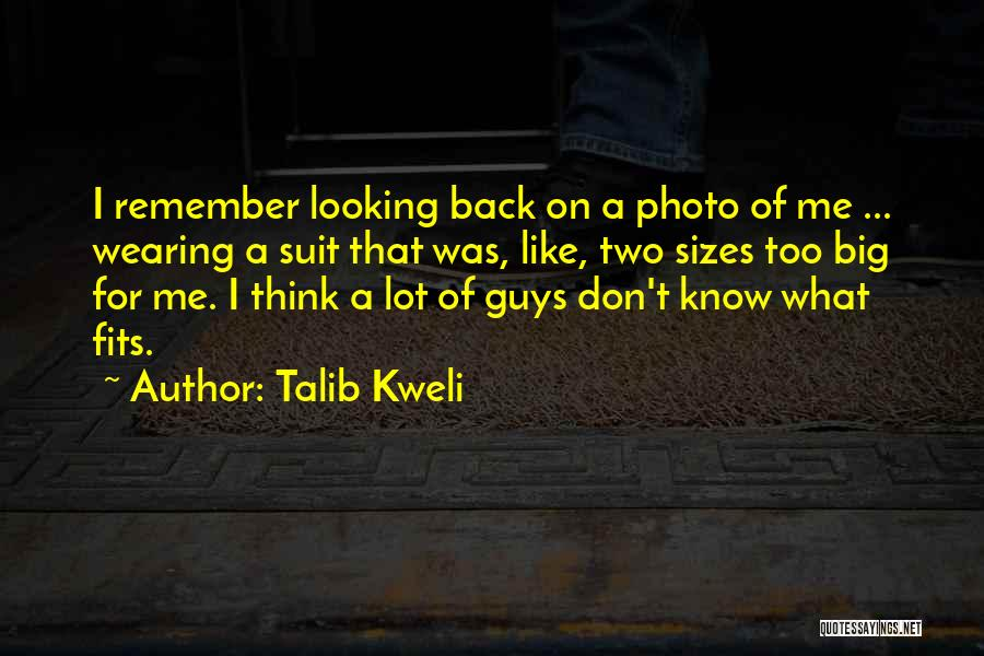 I Want To Go Back To My Past Quotes By Talib Kweli