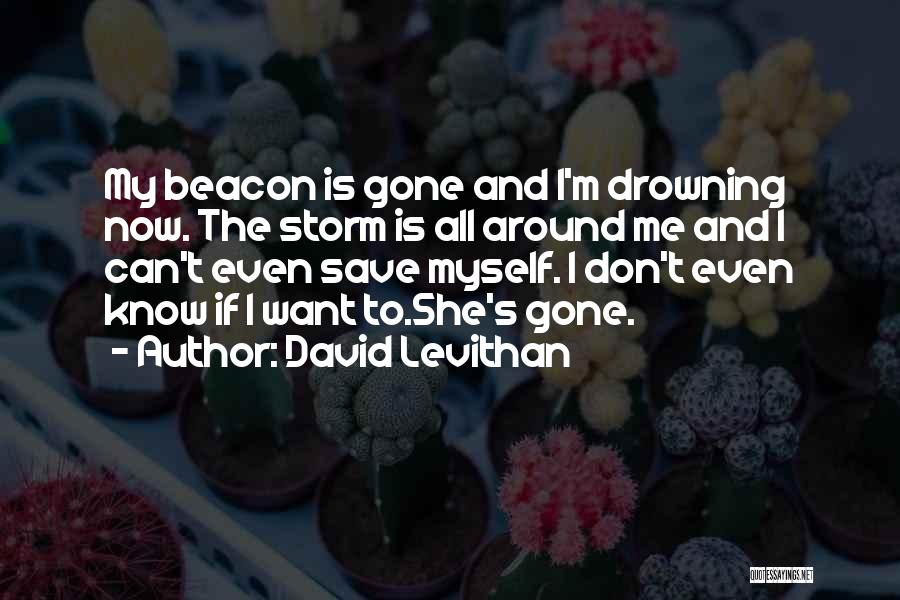 I Want To Know Myself Quotes By David Levithan