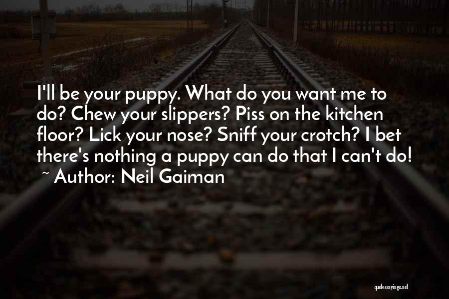 I Want To Lick You Quotes By Neil Gaiman