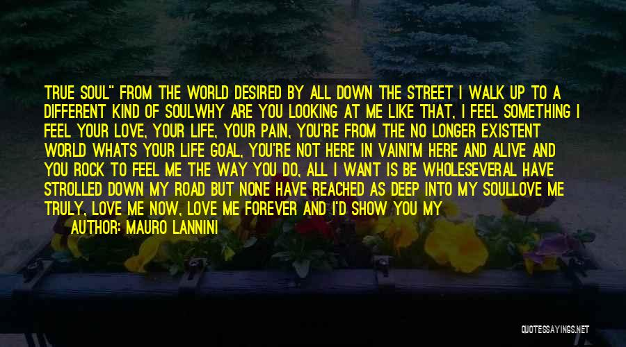 I Want To Show You My Love Quotes By Mauro Lannini