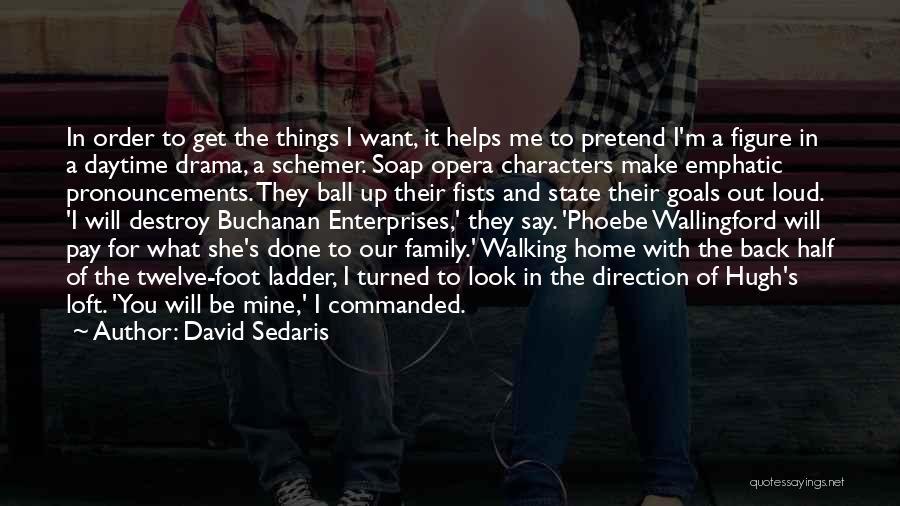 I Want You Back Home Quotes By David Sedaris