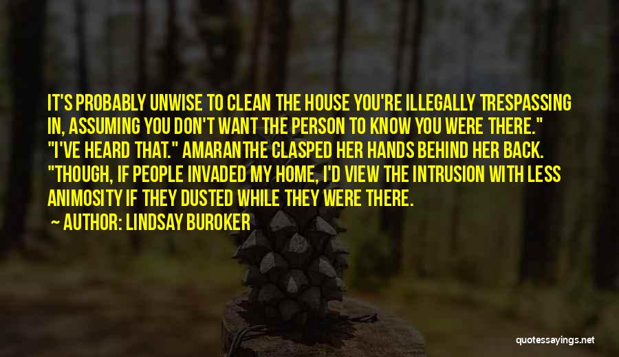 I Want You Back Home Quotes By Lindsay Buroker