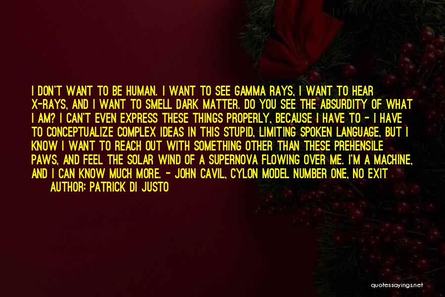 I Want You But Can't Have You Quotes By Patrick Di Justo