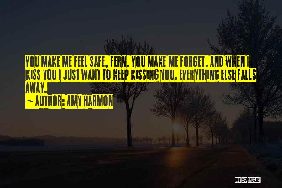 I Want You To Forget Me Quotes By Amy Harmon