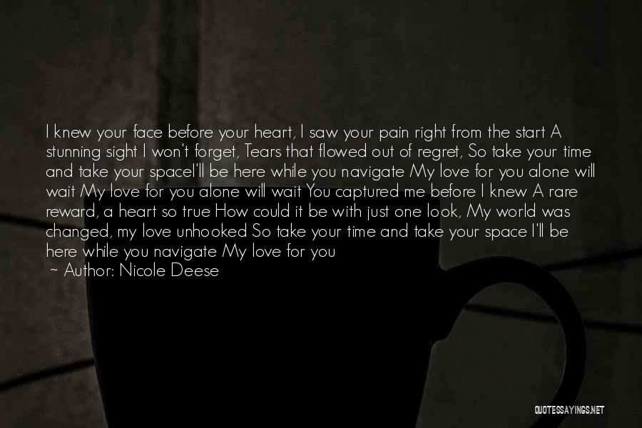 I Want You To Forget Me Quotes By Nicole Deese