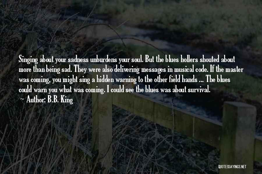 I Warn You Quotes By B.B. King