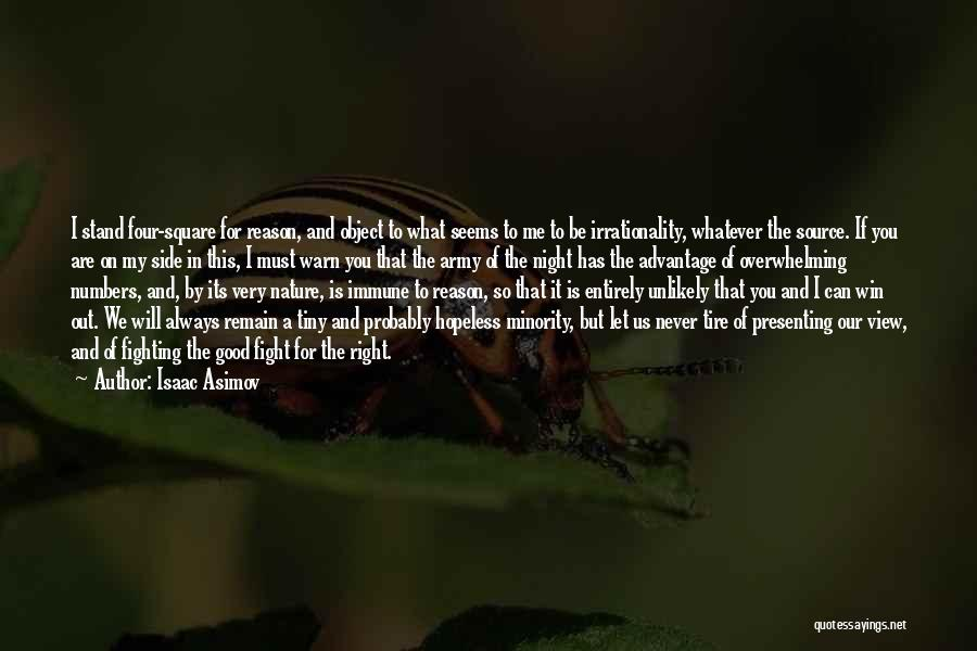 I Warn You Quotes By Isaac Asimov